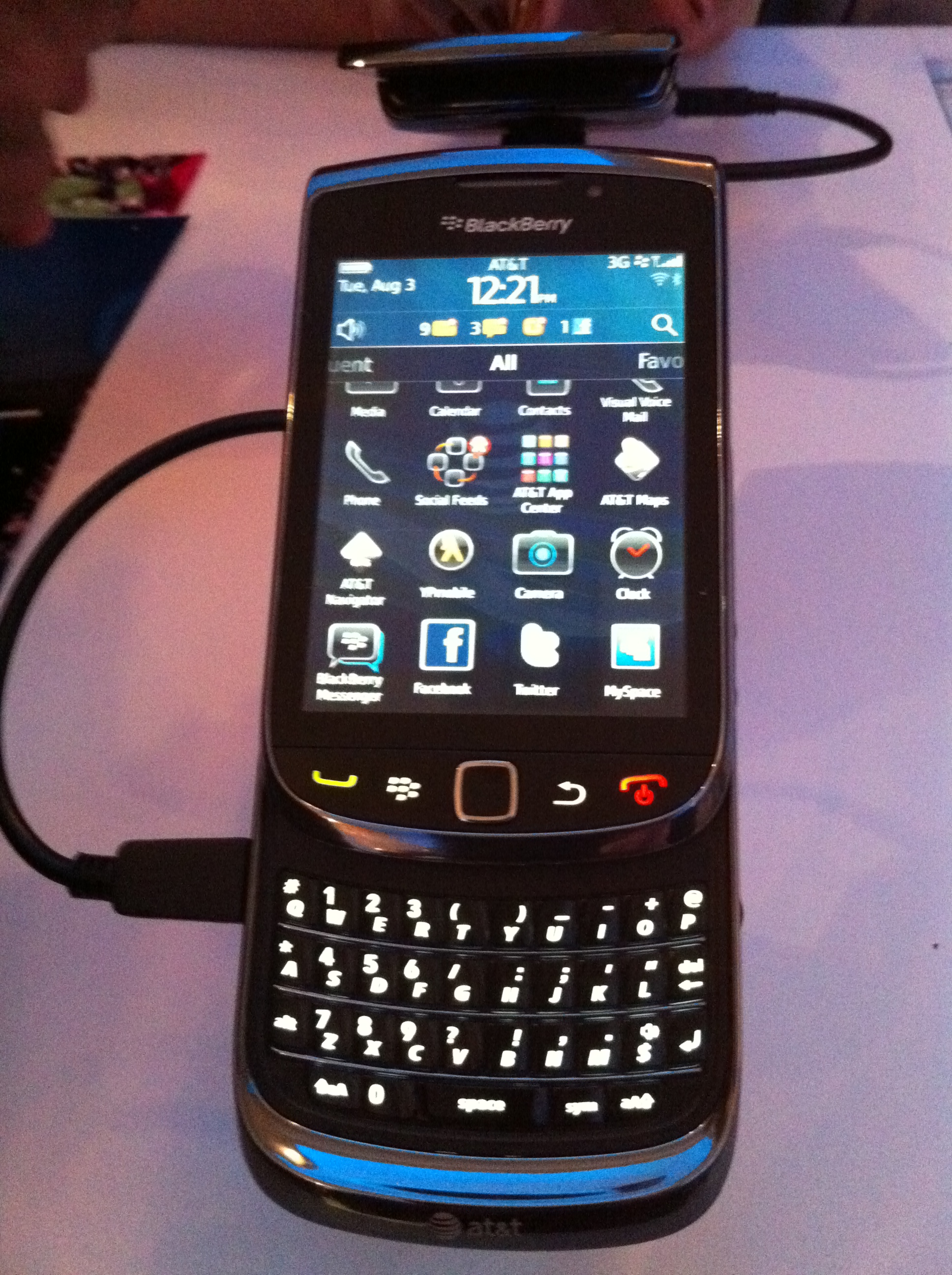 BlackBerry Torch announced for AT&T - Andrea Smith